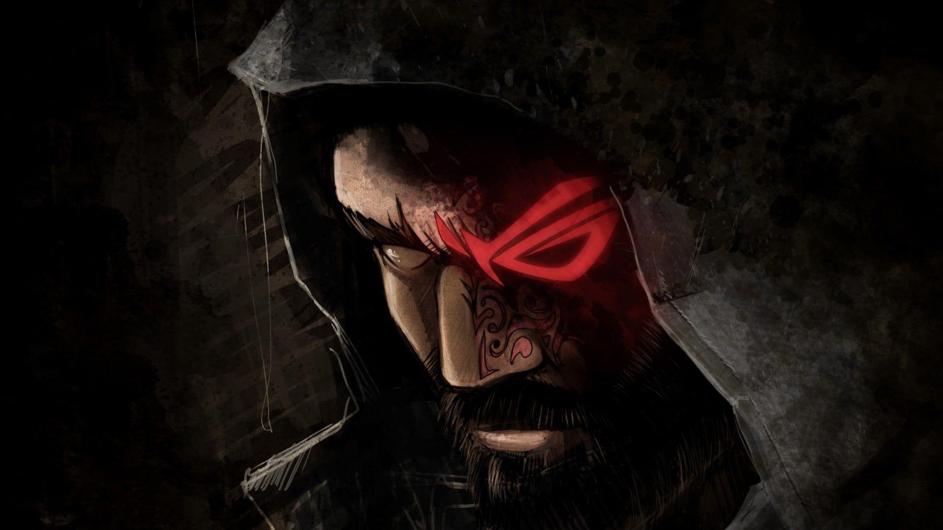 Man Wearing Hood Wallpaper Republic Of Gamers Asus Fantasy Art Hood Wallpapers Hd Wallpaper Asus Rog