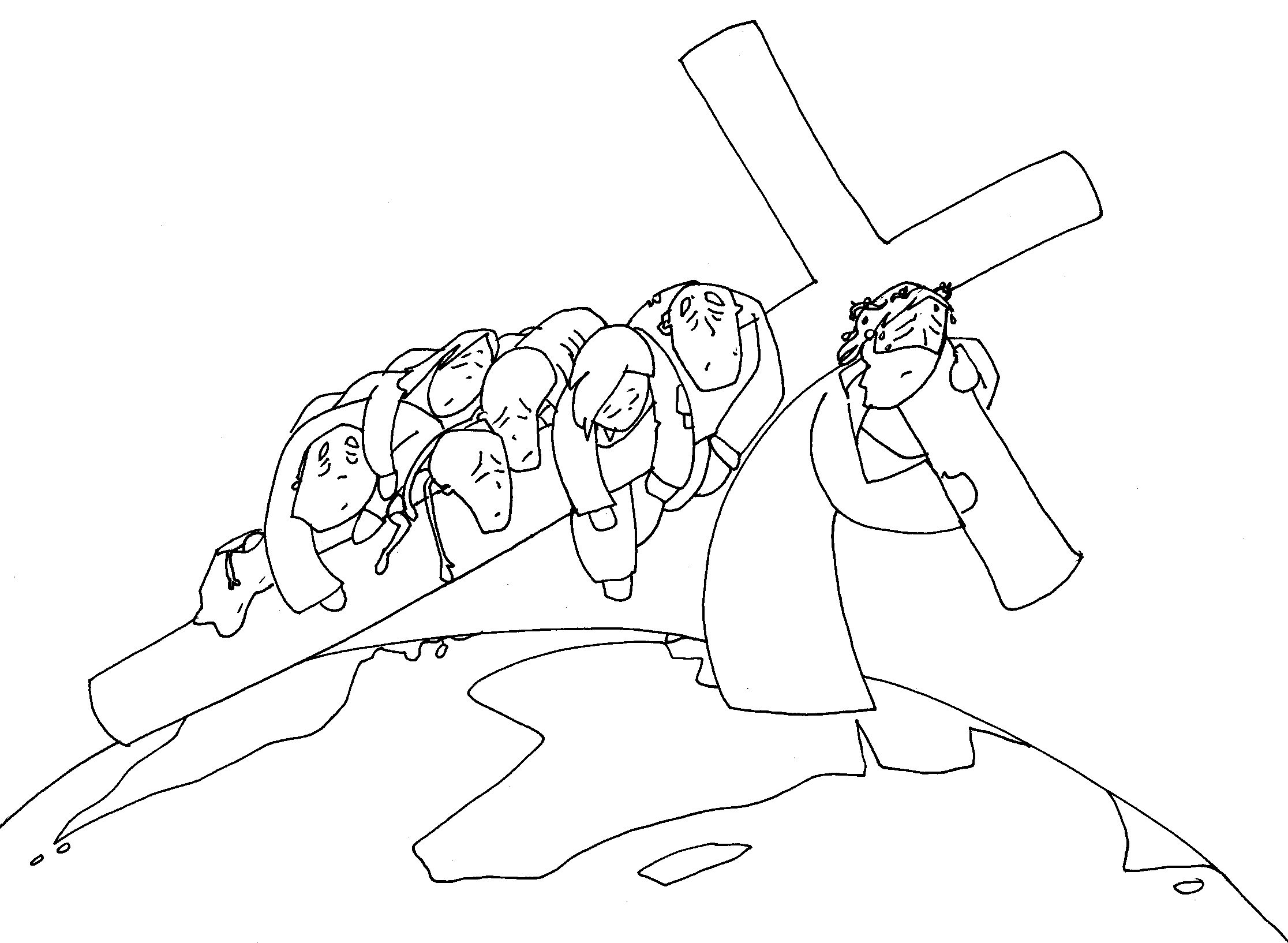 Vía Crucis 02   Fano B&N   Pinterest   Vías