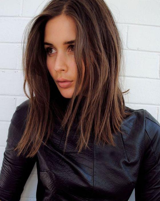 coiffure femme brune 2016