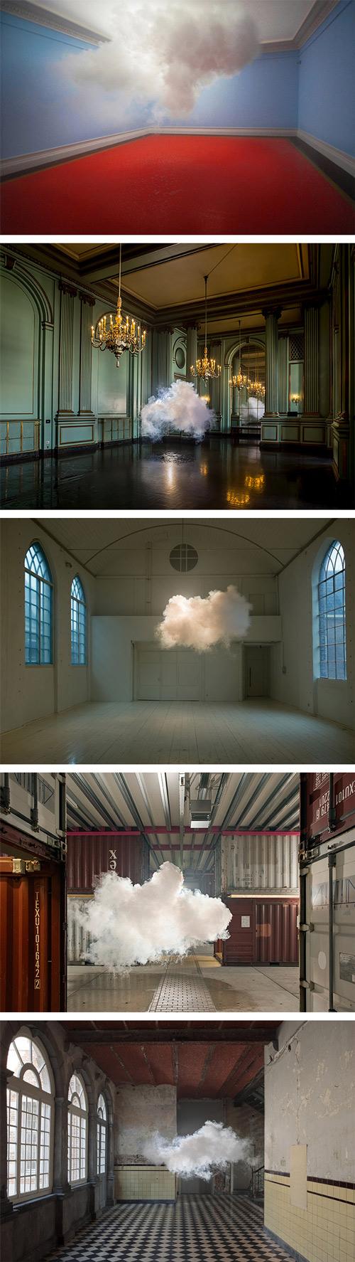 Nimbus Series, 2012-2013, by Berndnaut Smilde  Digital C-type Prints Photos: various