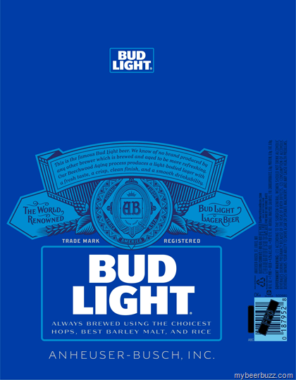 Bud Light Shows Off New Can Bottle Designs Mybeerbuzz Com Bringing Good Beers Good People Together Bud Light Bud Light Can Lettering Design