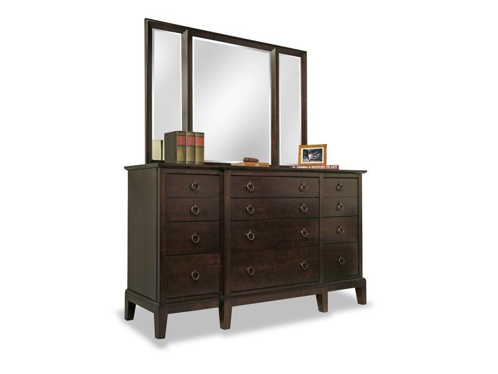 bedroom furniture durham. Durham Furniture Bedroom Break Front Dresser 2408-173 - Sims LTD Red Deer H