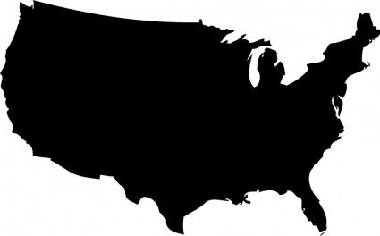 united states silhouette - Google Search | Crafts: Stencils ...