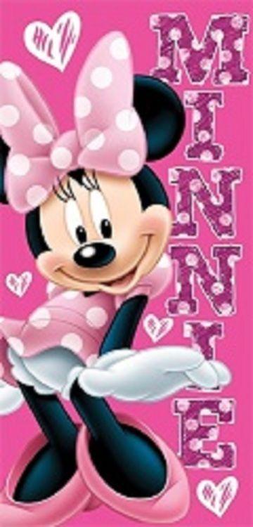 Minnie Mouse Minnie Summer Fun Beach Theme Towel