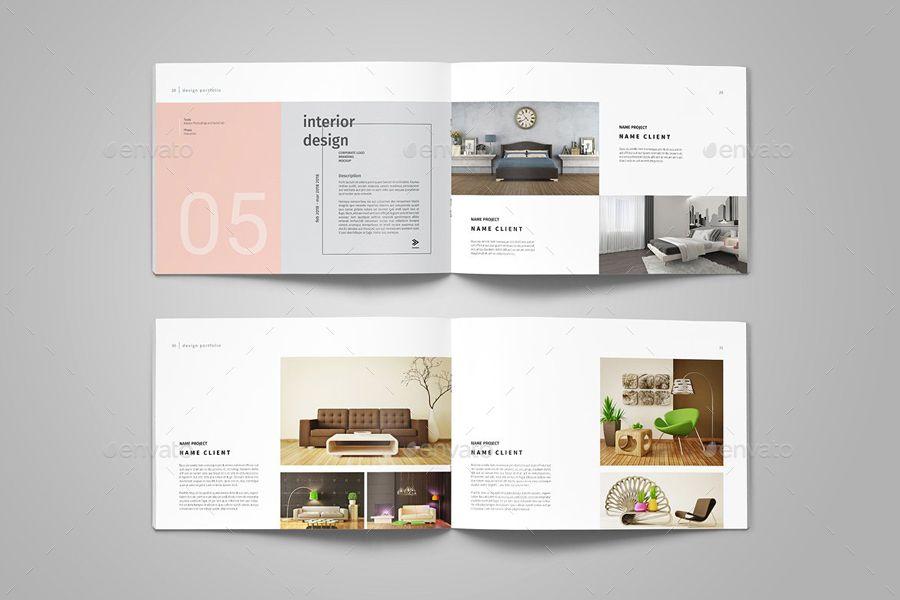 Interior Design Portfolio Templates Graphic Design Portfolio Portfolio Template Design Architecture Portfolio Template Interior Design Portfolio Layout