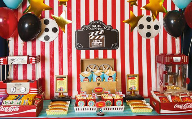 anniversaire theme du cinema