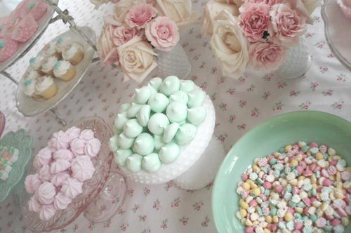 Tea Party Buffet by such pretty things, via Flickr