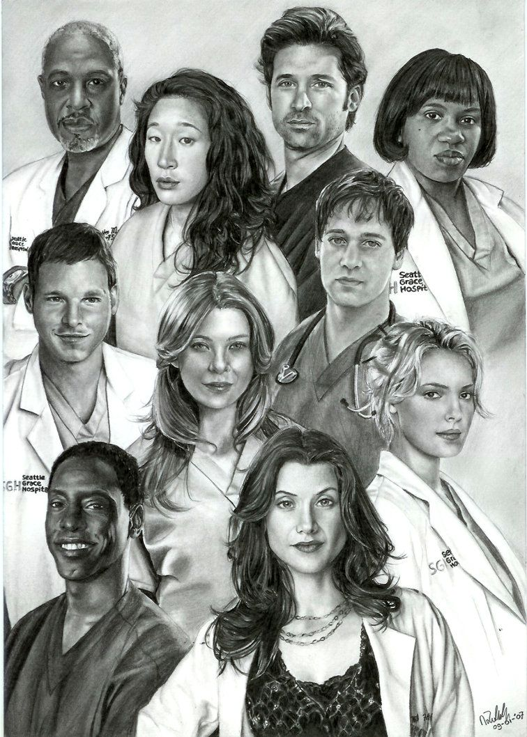 Greys Anatomy 2005 2018 Life Changes In A Heartbeat Artwork