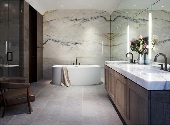 modern marble bathroom & modern marble bathroom | Bathrooms | Pinterest | Modern marble ...