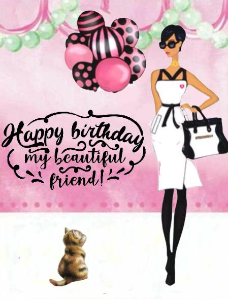 Birthday Ecards For Females Free Birthday Greetings Free Birthday Stuff Girl Birthday Cards
