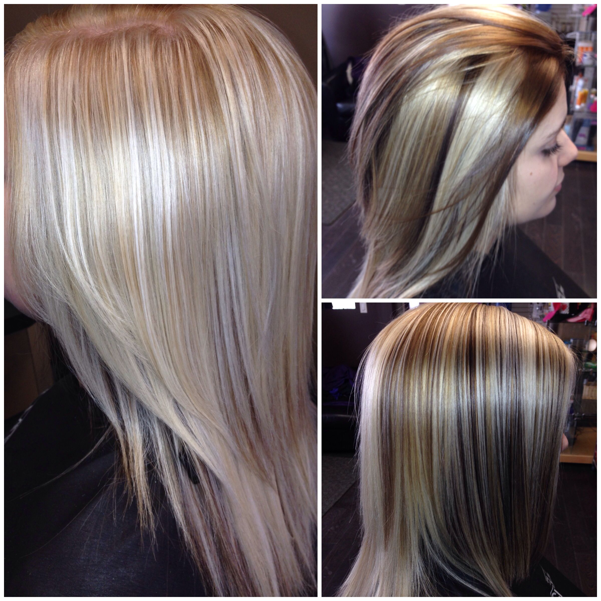 Same head, different looks! Slices of darker shades add depth and ...