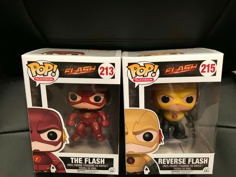TV Series Funko REVERSE FLASH #215 POP THE FLASH Action Vinyl Figure
