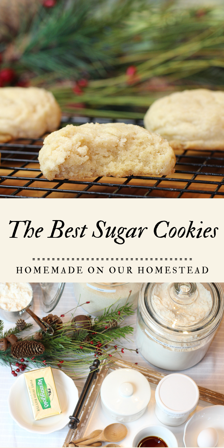 Sugar Cookies #quickcookierecipes