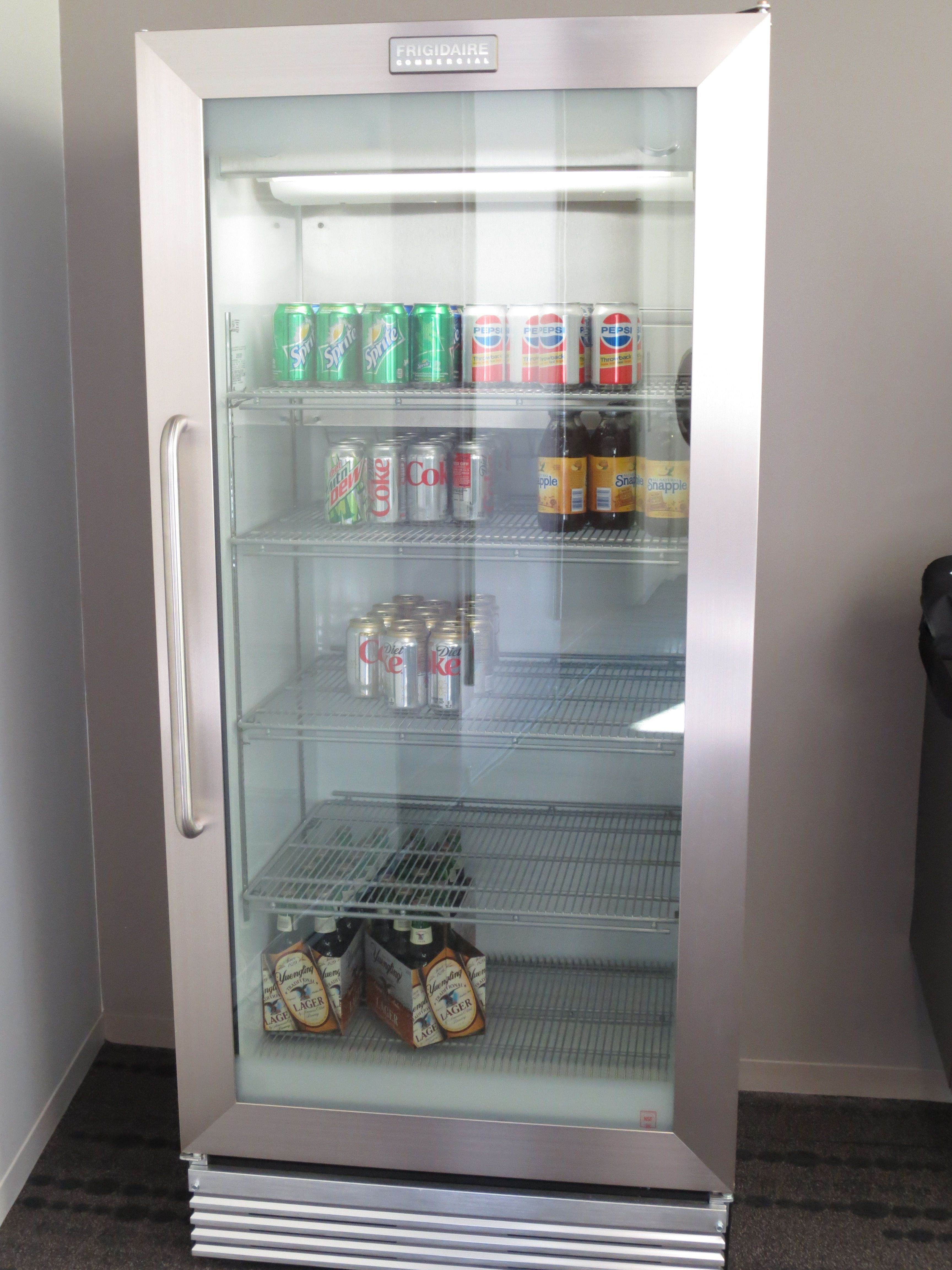 Frigidaire Commercial Grade Fridge with Glass Doors- a little more ...