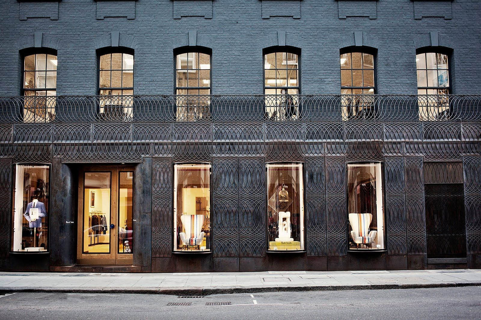 Paul Smith Shop Facade Architecture Architecture Architect