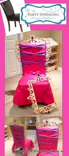 throne chair cover red comfy how to make a for princess google search ellies5
