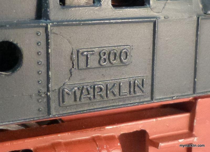 "Marklin T 790 ""blaugrau"" first version from 1949 - MyMarklin.com"