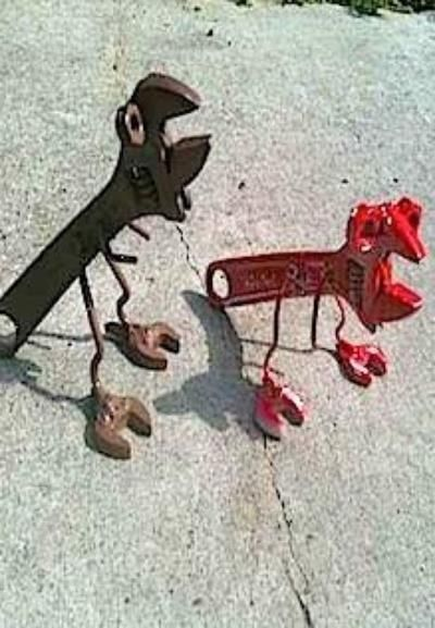 Work With Dad To Build Your Very Own T Wrench It S An Easy Creative And Fun Holiday Gift Metal Art Projects Welding Art Welding Art Projects