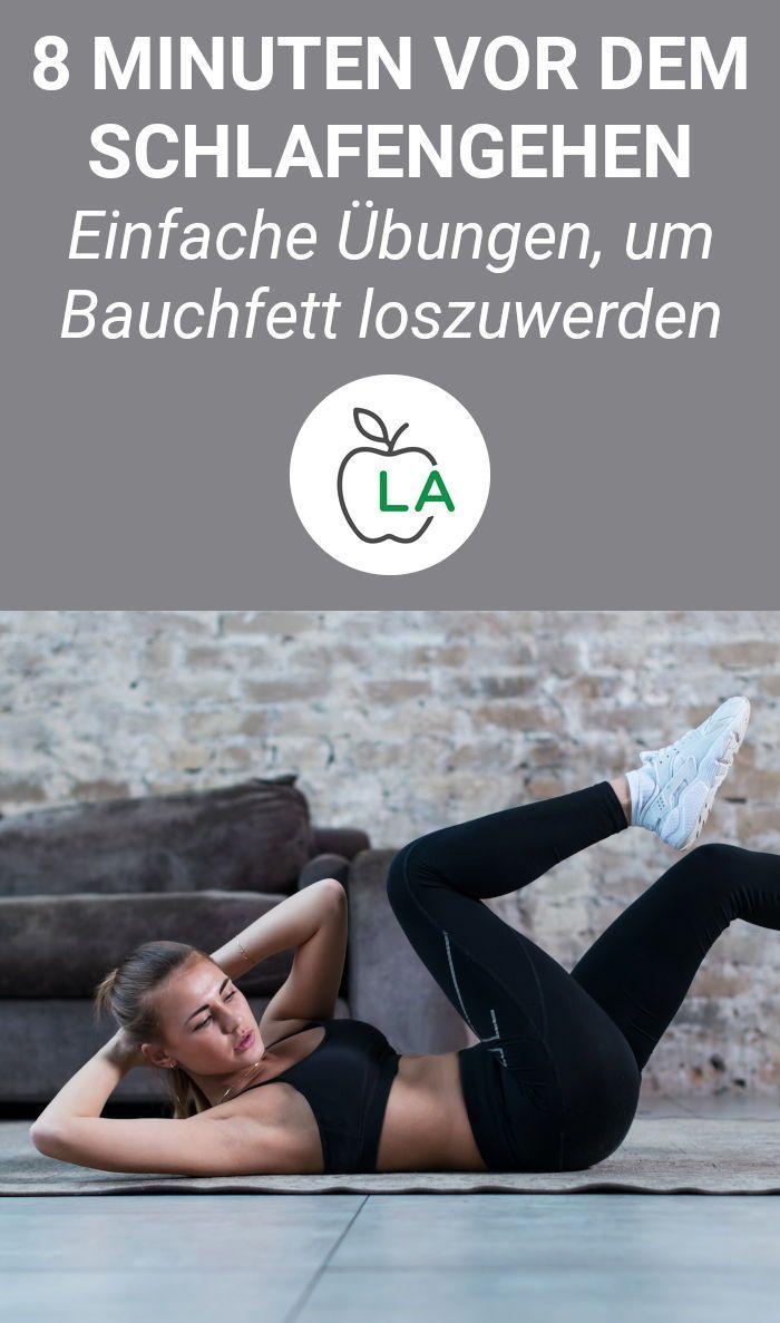 Bauchmuskeltraining für Zuhause - Bauchfett verbrennen mit 6 Übungen #dailyexercise Bauchfett loswer...