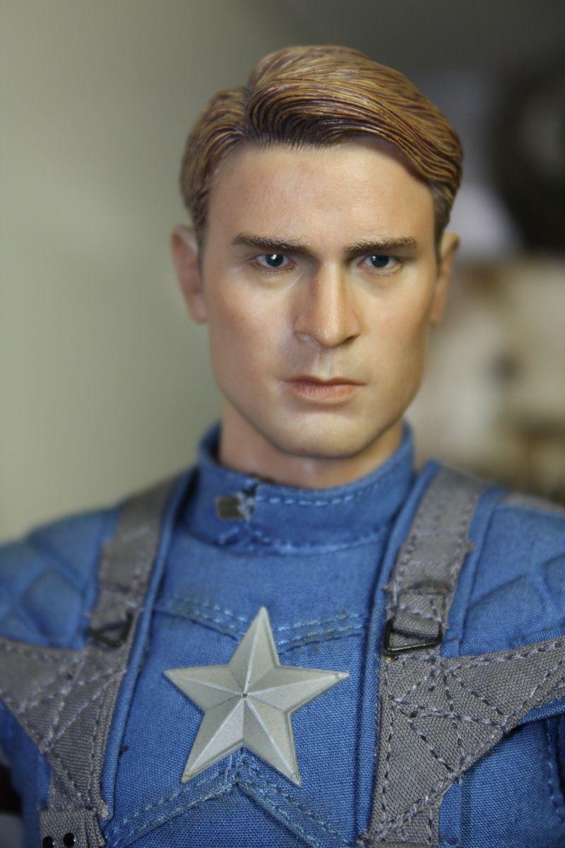"Custom painted star trek Mr spock head for 12/"" Action Figure doll Toys soldier m"