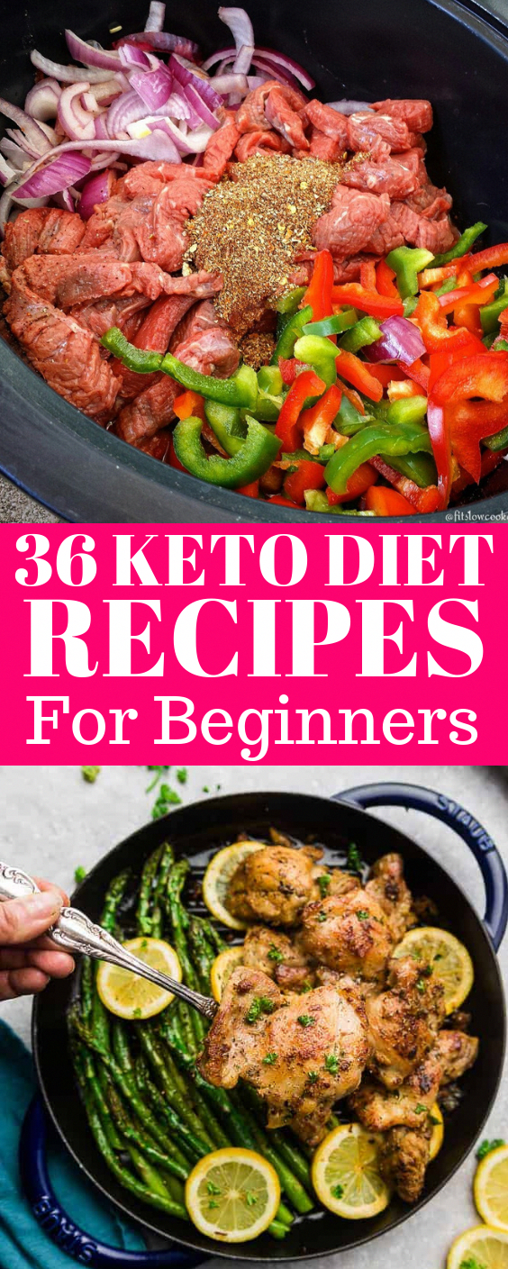 36 Ultimate Keto Diet Ideas for Beginners #ketorecipesforbeginners