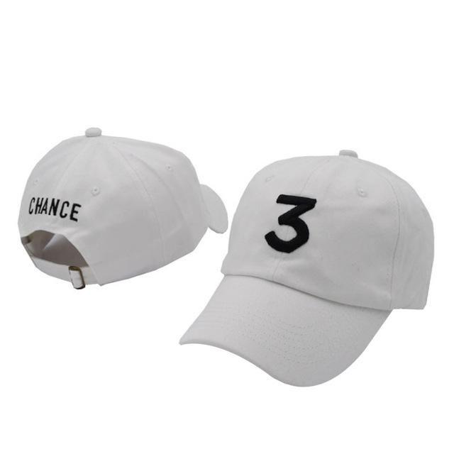 2aa3cb74675bd Fashion 3 Chance The Rapper Baseball Cap Men Women Letter Embroidery  Snapback Dad Hat Bone Casual