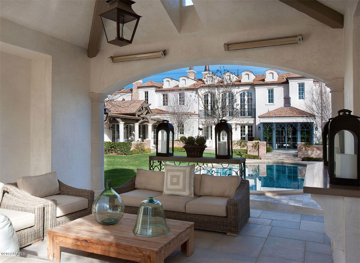 Dream backyard Exeter Boulevard Scottsdale AZ Dream
