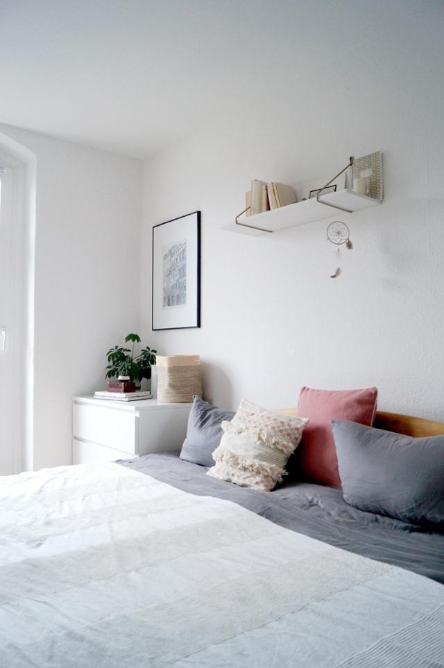 Charmant #bedroom #scandinavian #minimalism #altbau. Gemütliches Schlafzimmer ...