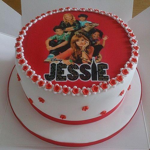 Disney Channel Jessie Cake Google Search In 2019 Cake