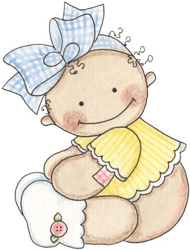 Imagenes de bebes para baby shower babyshower - Dibujos pared bebe ...