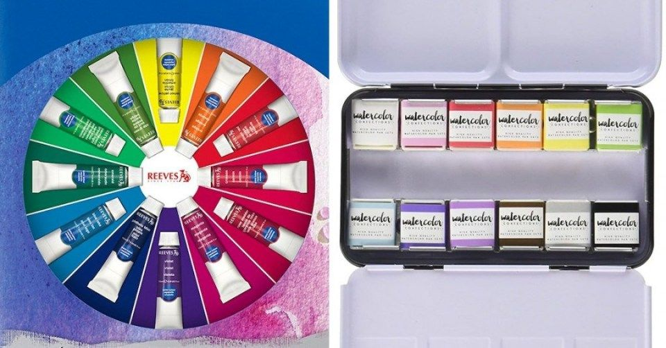 Pin By Painter Legend On Painting Watercolor Paint Set Paint