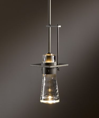 Saw this in person today hubbardton forge pendant with thick blown saw this in person today hubbardton forge pendant with thick blown glass cone suitable for wet locations as well i see a powder room with slate gray aloadofball Gallery