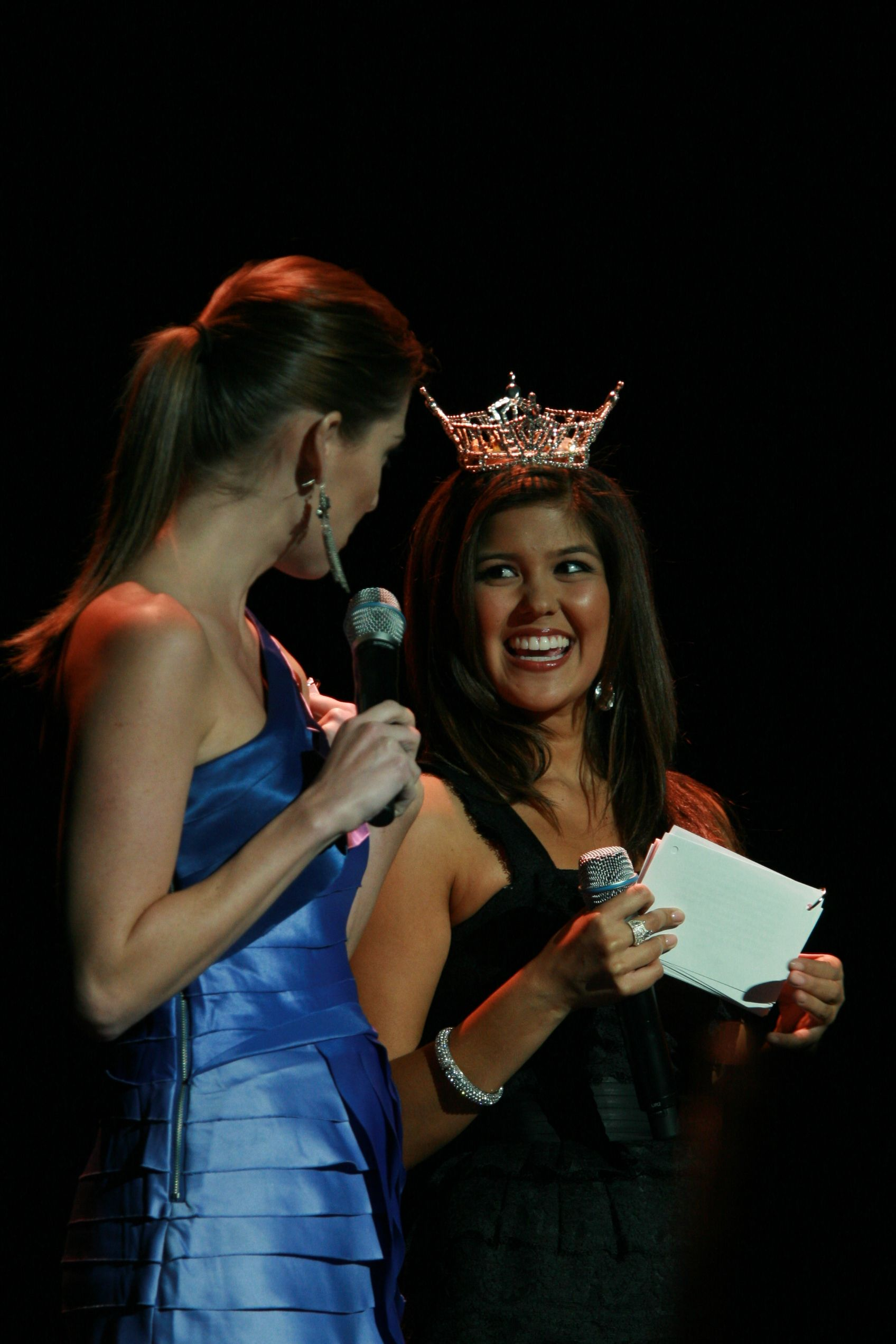 Miss California pageant at the Saroyan Theatre Arianna