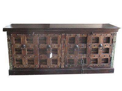 rustic spanish furniture. VINTAGE RUSTIC INDIAN FURNITURE : Antique Rustic Spanish Style Sideboard Furniture