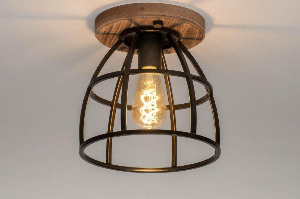 Plafondlamp 12612 Industrie Look Landelijk Rustiek 0 Plafondlamp Plafondverlichting Lampen Plafond