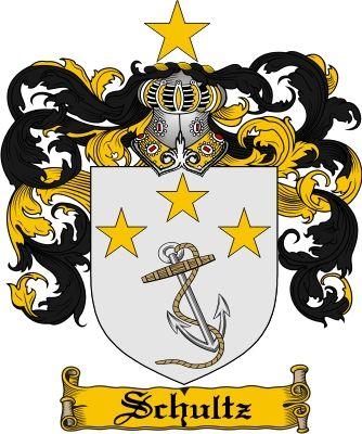 schultz family crest schultz coat of arms schultz