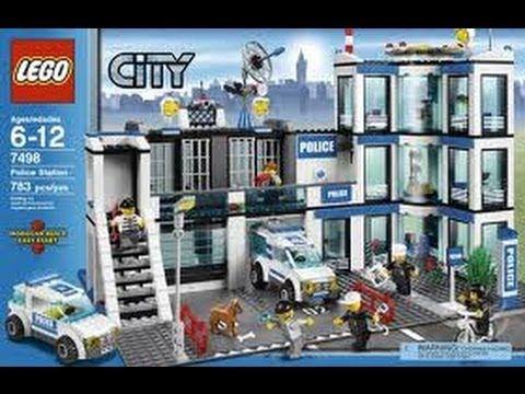 LEGO City Police Station Set 7498 Review | Atticus birthday ...