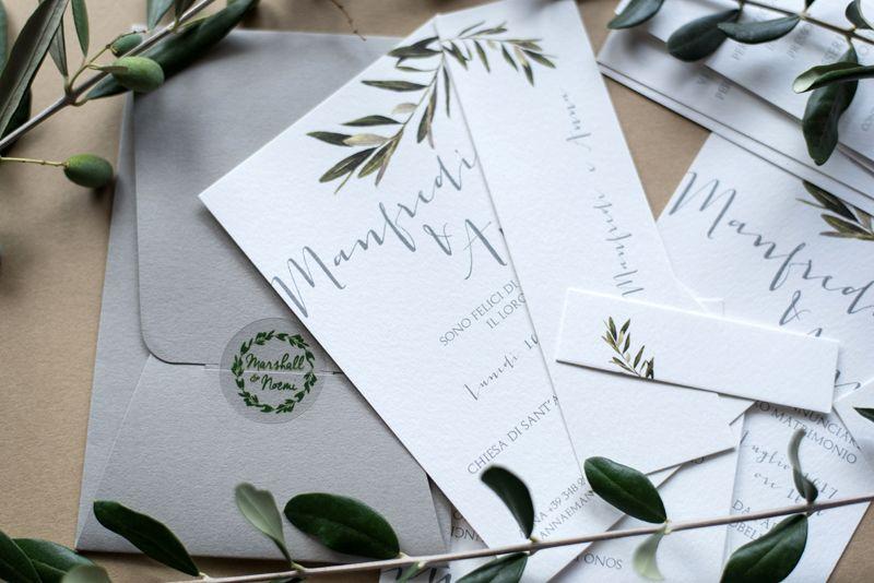 Partecipazioni Matrimonio Ulivo.Pin Su Partecipazioni Matrimonio Wedding Invitation