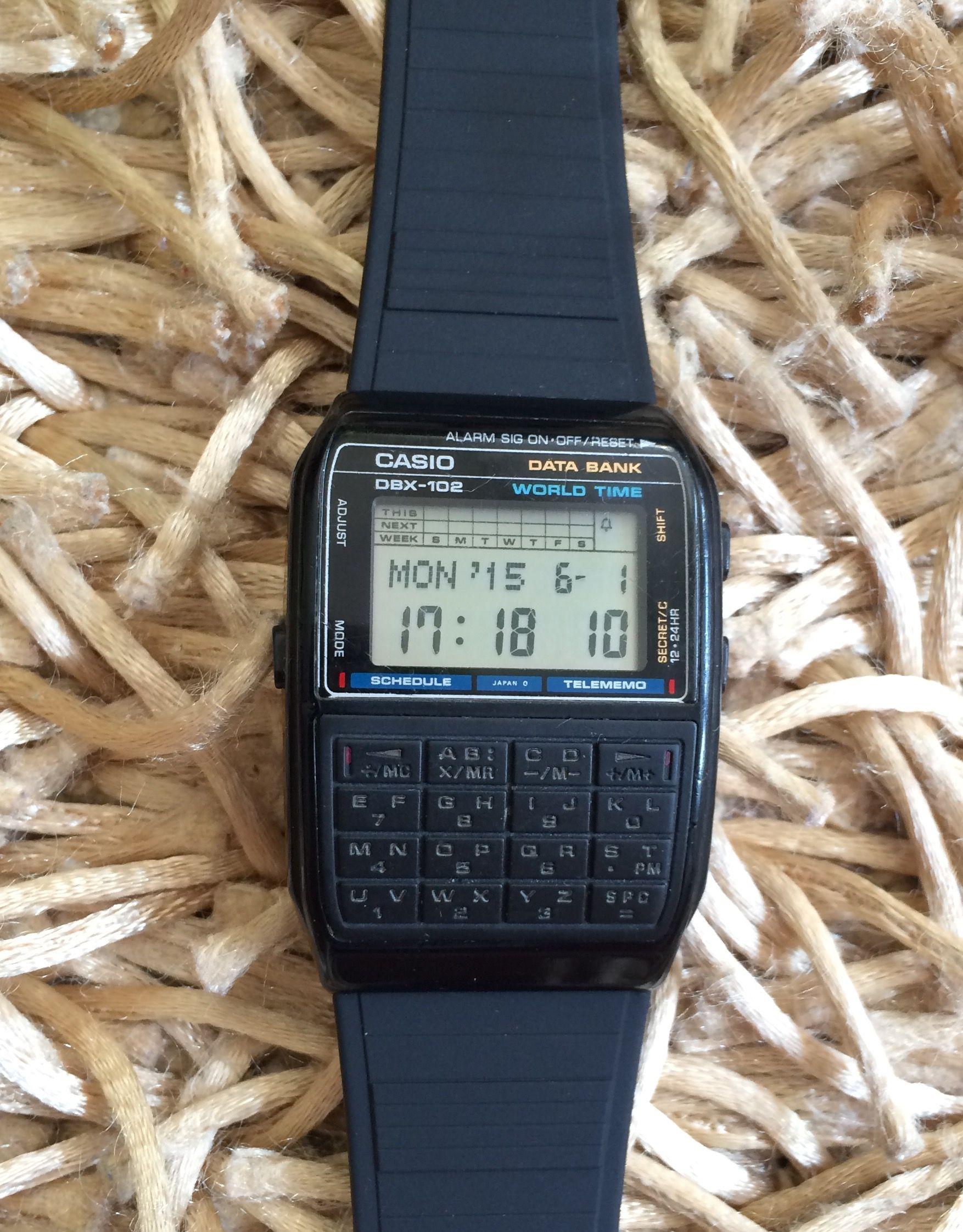 Casio DBX-102  d5252b68a9