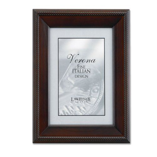 Lawrence Frames Tu By Edo Walnut Wood 8 By 12 Picture Frame