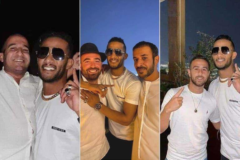 تفاصيل جديدة وصادمة عن صور محمد رمضان مع الإسرائيليين في دبي Mens Sunglasses Men Sunglasses