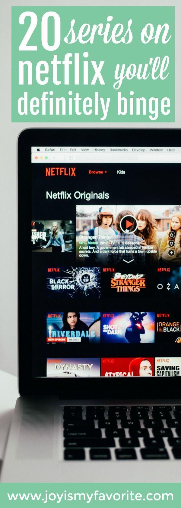 20 TV Series on Netflix You'll Definitely Want To Binge