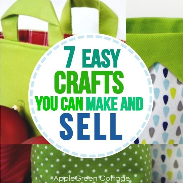 7 Easy Crafts To Make And Sell #craftstomakeandsell