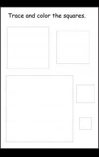 Shape Square 1 Worksheet