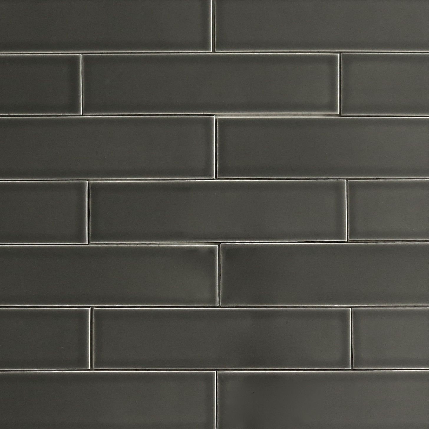 Clayhaus 2x8 Carbon Ceramic Tile  Subway Tile ColorsCeramic ...