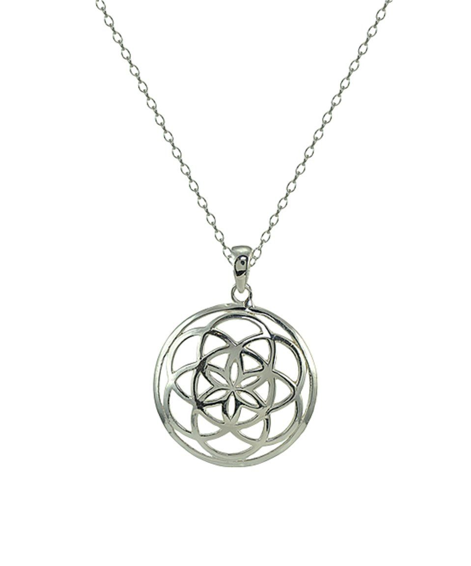 Take a look at this sterling silver celtic knot round pendant