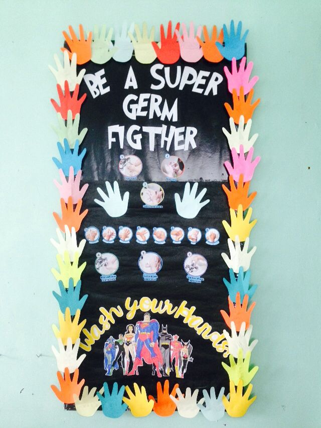 Be a super germ fighter! Thanks for the idea mrgoogle! Science