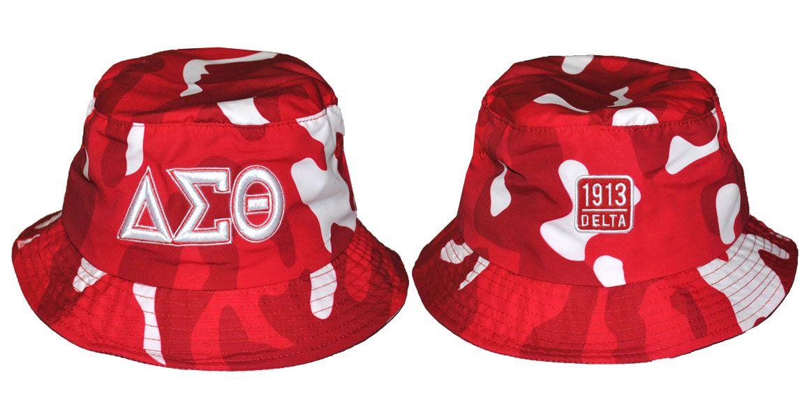 ddb69ef55fe Delta Sigma Theta bucket hat