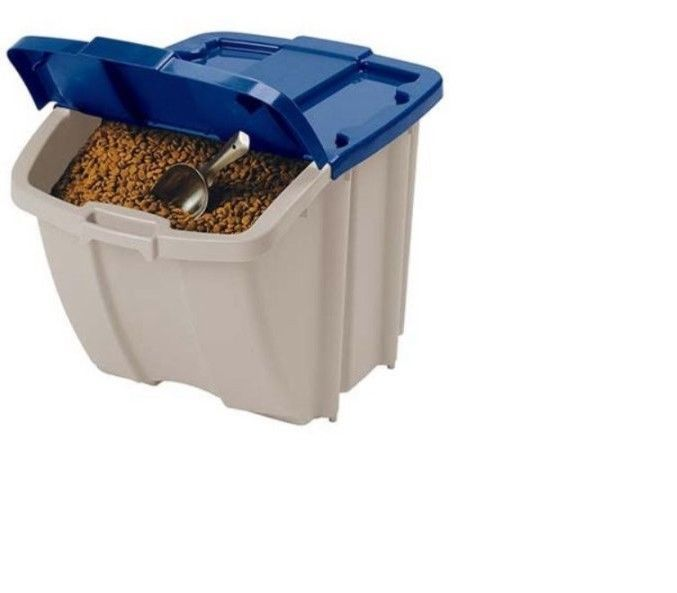 Dog Food Storage Bin 50 Lbs Pet Meal Container 72 Quart Animal