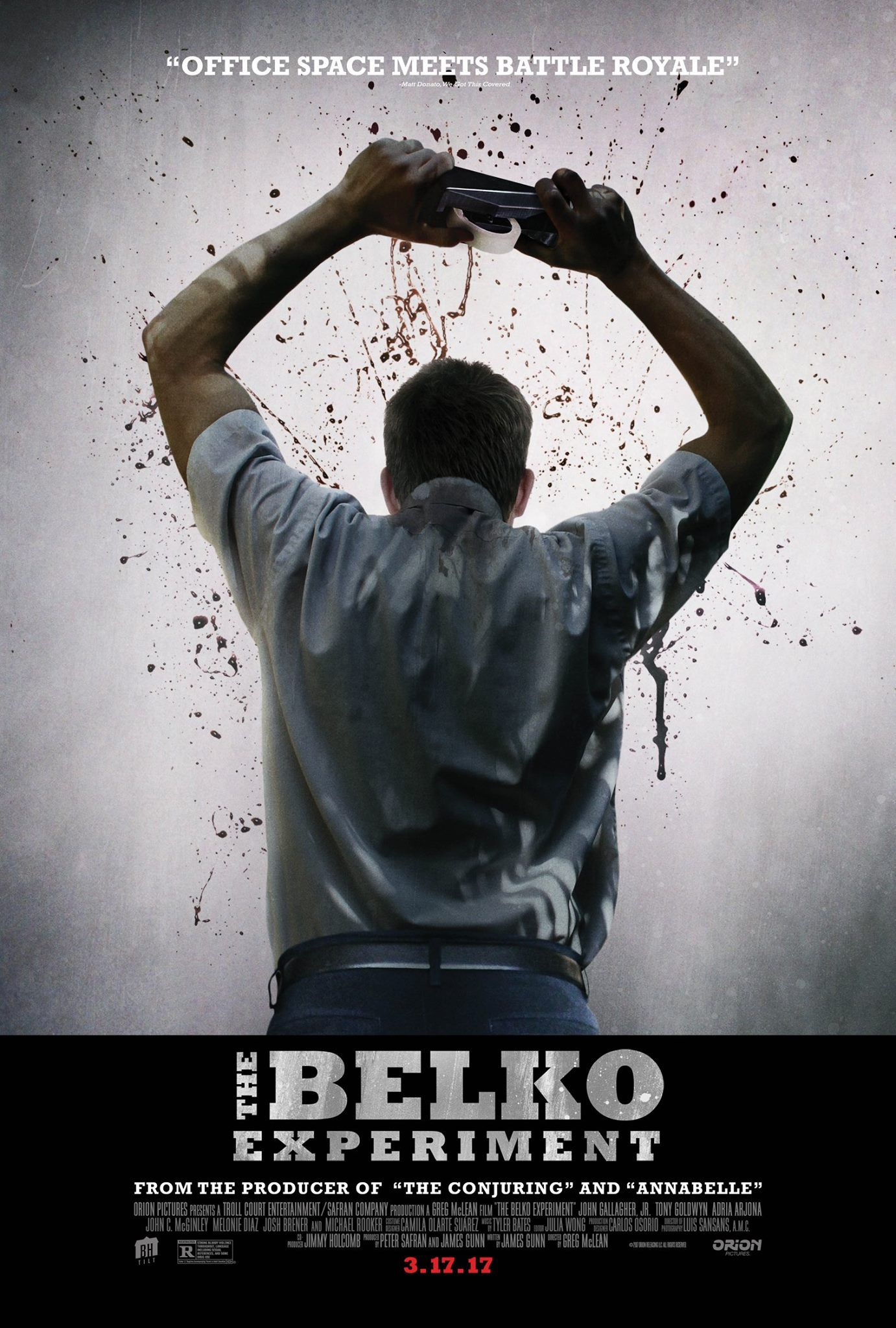 The Belko Experiment In Theaters March 17 2017 Filmes